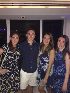 A picture of the Summer Associates at the Clam Bake (This is what happens when they wait until I already left to take a photo)